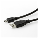 USB-Kabel A an Mini B 70cm Economy Version