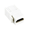HDMI Snap-In-Adapter 2x HDMI-A weiblich weiss