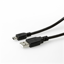 USB-Kabel A an Mini B 1.5m Economy Version