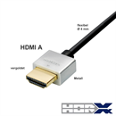 Flexibles HDMI-Kabel mit Metallsteckern 3m