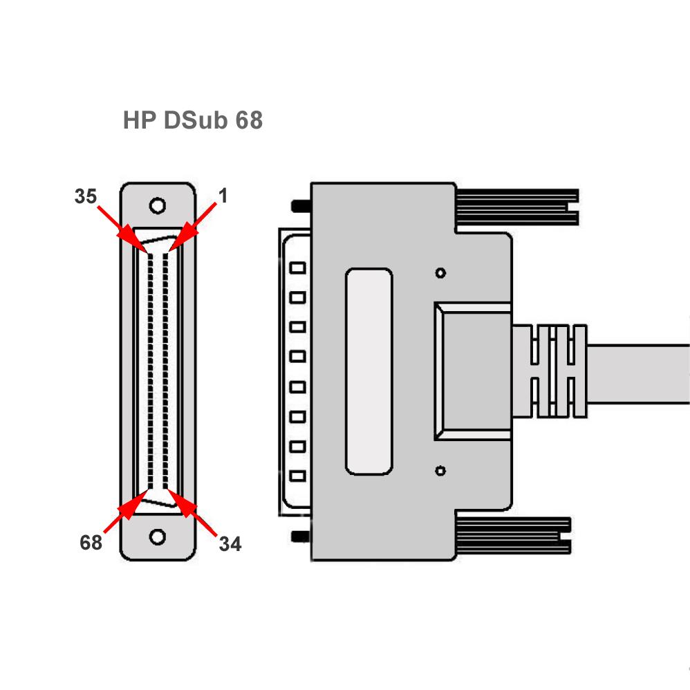 Lvd Kabel Hp Dsub 68 An U160 U320 Low Voltage Scsi Wiring Diagram Mehr Infos